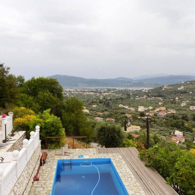 Villa with view in Apolpaina, Lefkada.