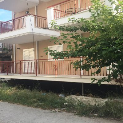 Incomplete apartments in the center of Lefkada.