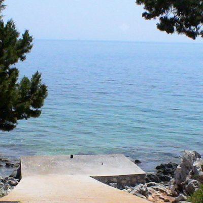 Seafront plot in Evgiros, Lefkada.