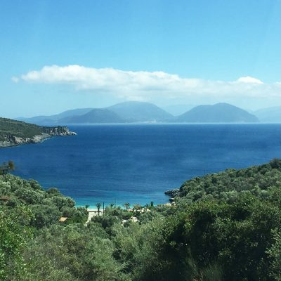 Land with view in Ammouso, Lefkada.
