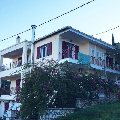 Three storey building Apolpena, Lefkada.