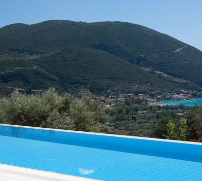 Luxurious villa with great view in Vasiliki, Lefkada.