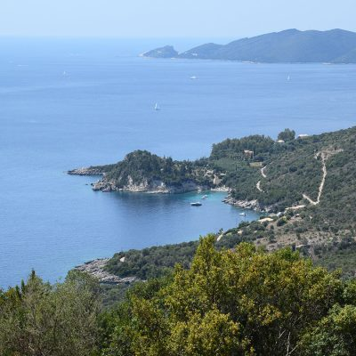Plot of land with view in Marantohori, Lefkada.