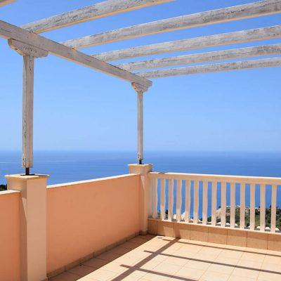 Detached house in Athani, Lefkada.