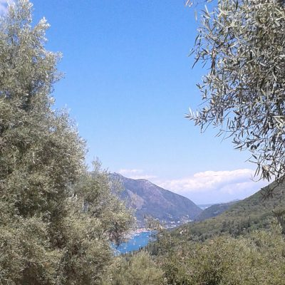 Plot between Katochori and Poros, Lefkada