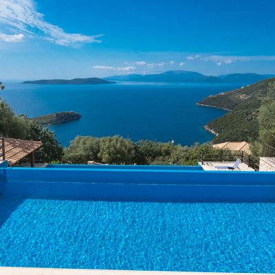 Invest in 3 luxurious villas in Sivota, Lefkada.