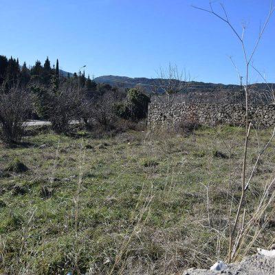 Οικόπεδο στο Σπανοχώρι Λευκάδας.