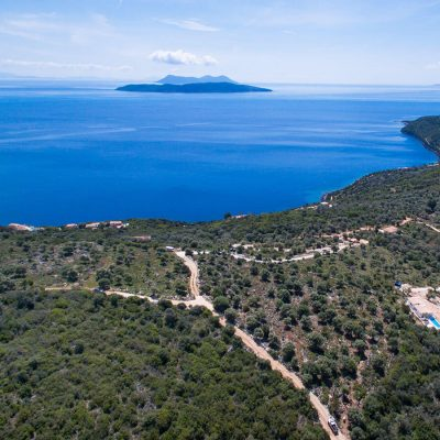 Plot of land with great view in Lipsopirgos, Lefkada.