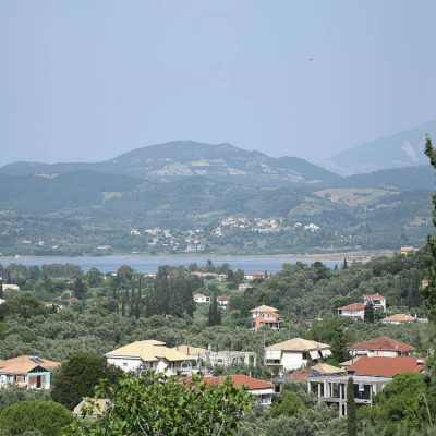 Plot in vertical divisions for sale in Apolpaina, Lefkada.