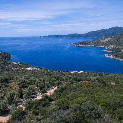 Plot of land with panoramic view in Lipsopirgos, Lefkada.