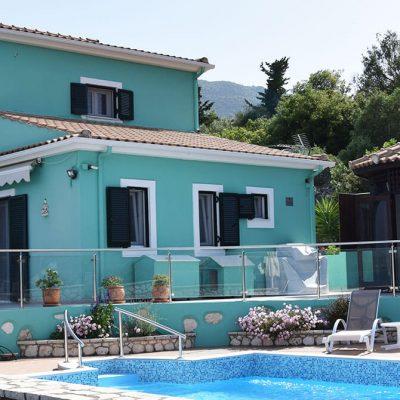 Luxury villa in Nikiana, Lefkada.