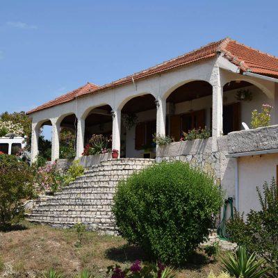 Detached house with guest houses in Paliampela, Etoloakarnania.